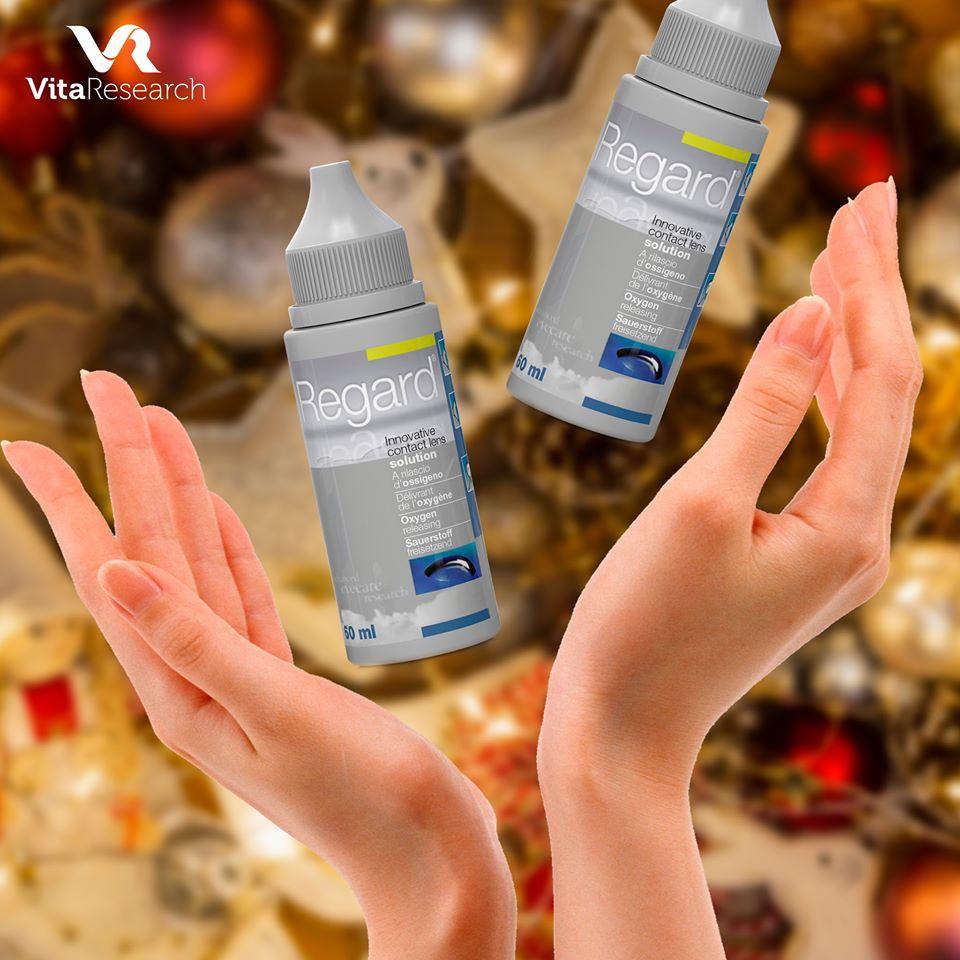 Раствор для линз REGARD - это бесценный подарок итальянской Vita Research вашим глазам!